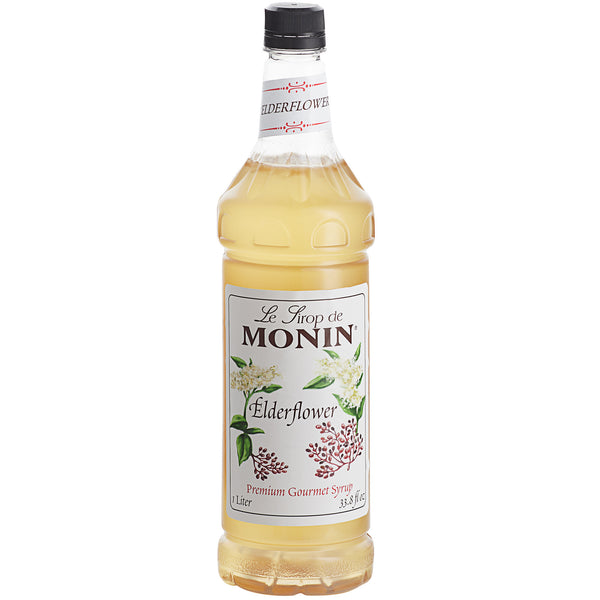 ELDERFLOWER / MONIN / 1 LITER / (4/CS)