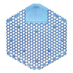 WAVE 3D URINAL DEODORIZER SCREEN, BLUE, COTTON BLOSSOM (10/CS)