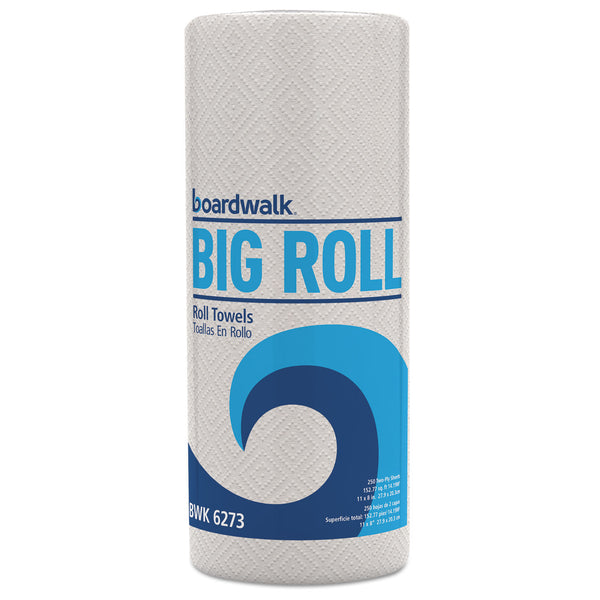 "KITCHEN ROLL TOWEL / BIG ROLL / 2 PLY / 11"" X 8.5"" / WHITE / 250 SHEET (12/CS) [KTOW]"