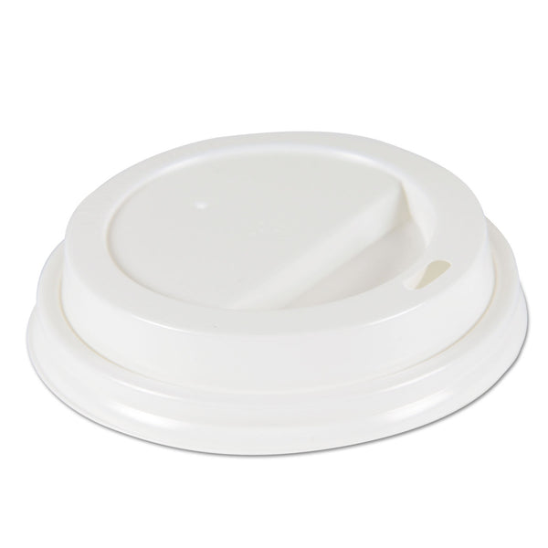 HOT CUP LID / WHITE / FITS 10-20 OZ BOARDWALK HOT CUP (100/10/1,000)