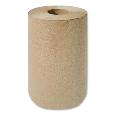 "BROWN HARDWOUND TOWEL / 8"" X 350' (12/CS)"