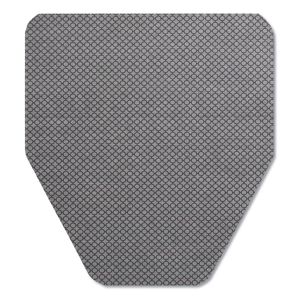 TOC220209 / KOMODO URINAL MAT, 18 X 20, GRAY (CS/6)