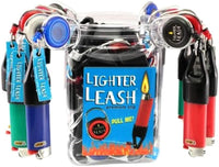 LIGHTER LEASH / PREMIUM CLIP / ASSORTED COLORS (JUG/30)