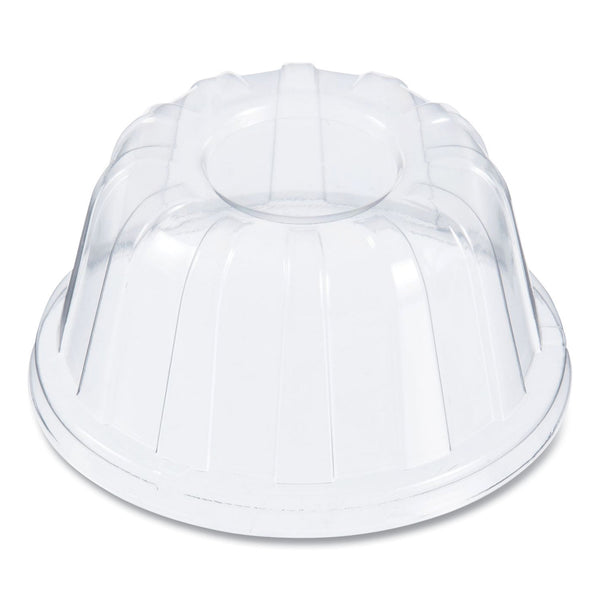 DART HIGH DOME SPECIALTY LID 20 OZ CLEAR NO HOLE (CASE 1000 - 20 SLEEVES OF 100)