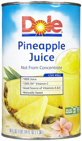 PINEAPPLE JUICE / 46 OZ (EACH)