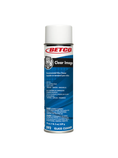 CLEAR IMAGE GLASS & SURFACE AEROSOL CLEANER, PACK OF 12