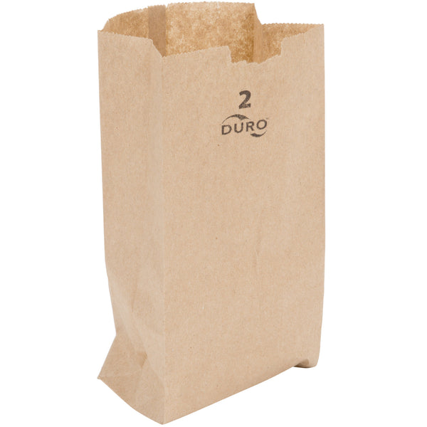 DURO 2 LB. BROWN PAPER BAG - 500/BUNDLE