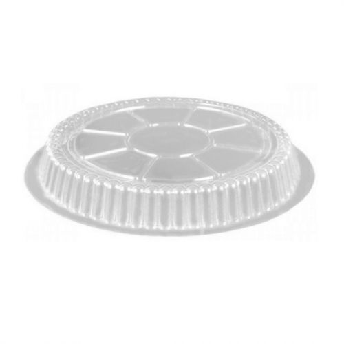 "9"" HEAVY FOIL PIE PAN DOME LID - DEEP - #509DL (500/CS)"