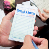 "GUEST CHECK / BOARD / 1 PART 3.5"" X 6.75"" (50/CS)"