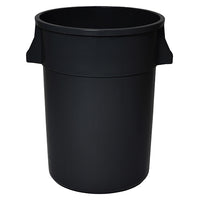 TUFF CAN RECEPTACLE; 44 GALLON, BLACK