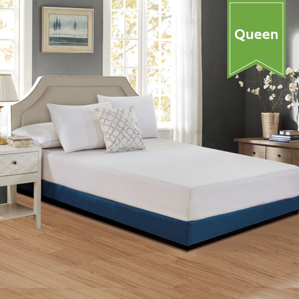 60 X 80 QUEEN BOX SPRING COVER*** POISED NAVY *** TAILORED