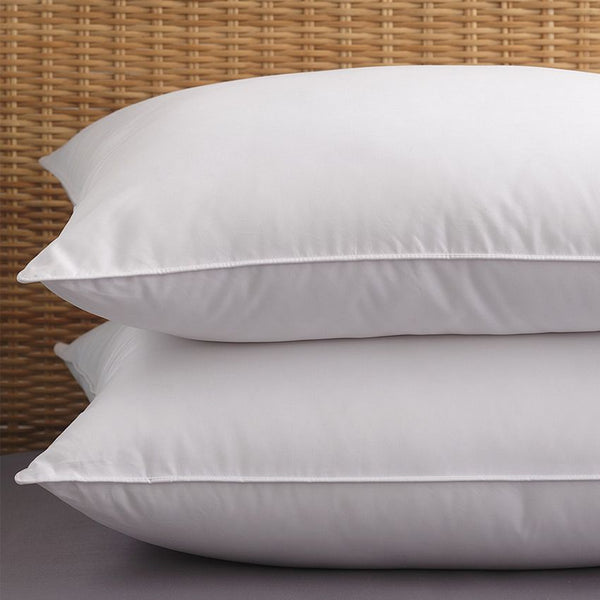 PILLOW / JUMBO / POLY CLUSTER FIBER / 20 X 30 / 100% COTTON / 30 OZ (EACH) (12/CS)
