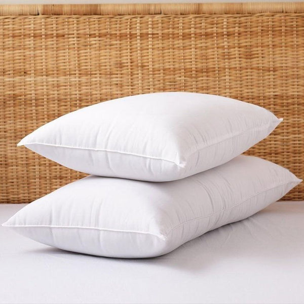 PILLOW / KING / POLY CLUSTER FIBER / 20 X 36 / 100% COTTON / 36 OZ (EACH)