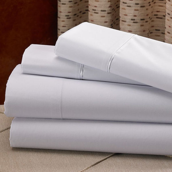 ICON-300 QUEEN FLAT SHEET / 90 X 110 / TWILL WEAVE (DOZEN)