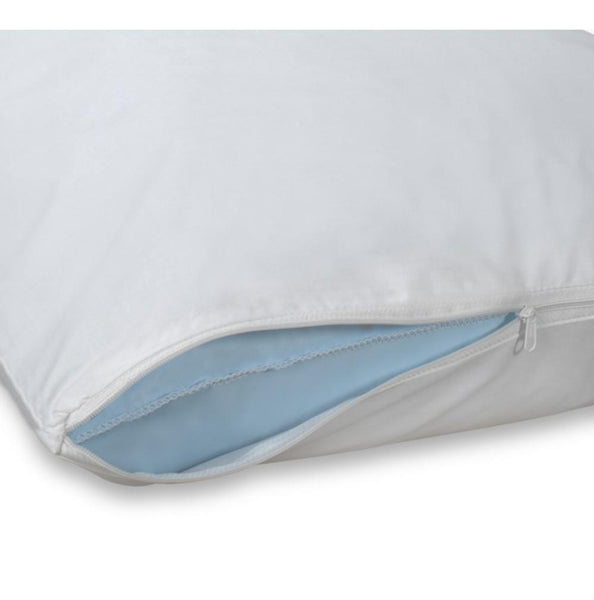 ZIPPER PILLOW PROTECTOR / QUEEN / 20 X 30 (DOZEN)