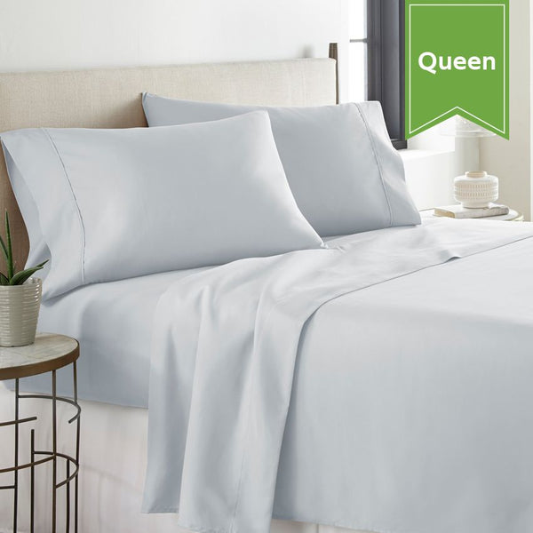 ICON-300 QUEEN FLAT SHEET / 94 X 120 / TWILL WEAVE (DOZEN)