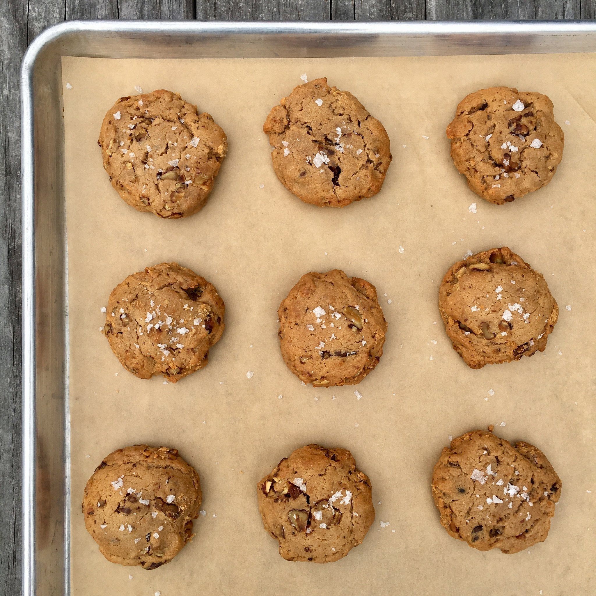 Salty Honey Walnut Pie Cookies (Half Dozen)
