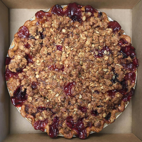 Vegan Strawberry Rhubarb Crumble (Pre-Order Only)