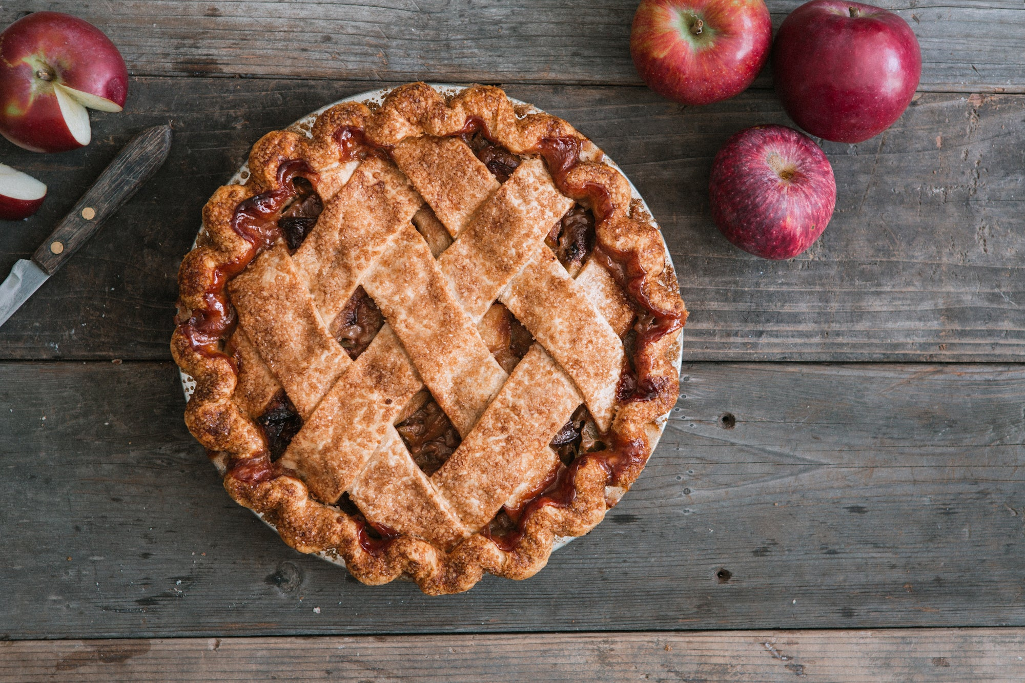 Live! Apple Pie Virtual Class (class admission + pie kit) - October 15, 5pm