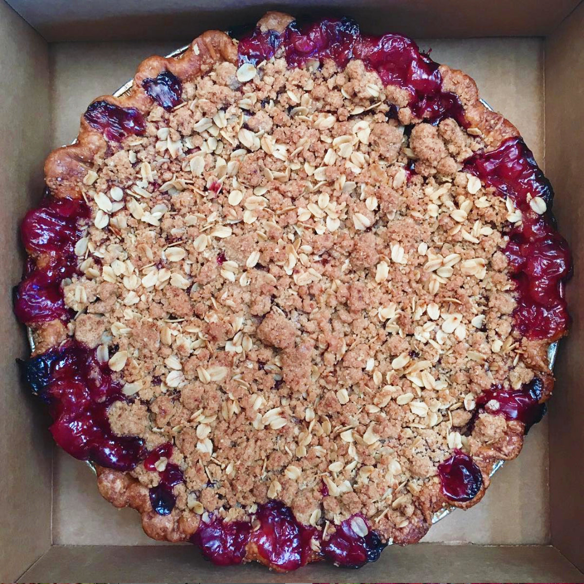 Gluten-Free Strawberry Rhubarb Crumble (Pre-Order Only)