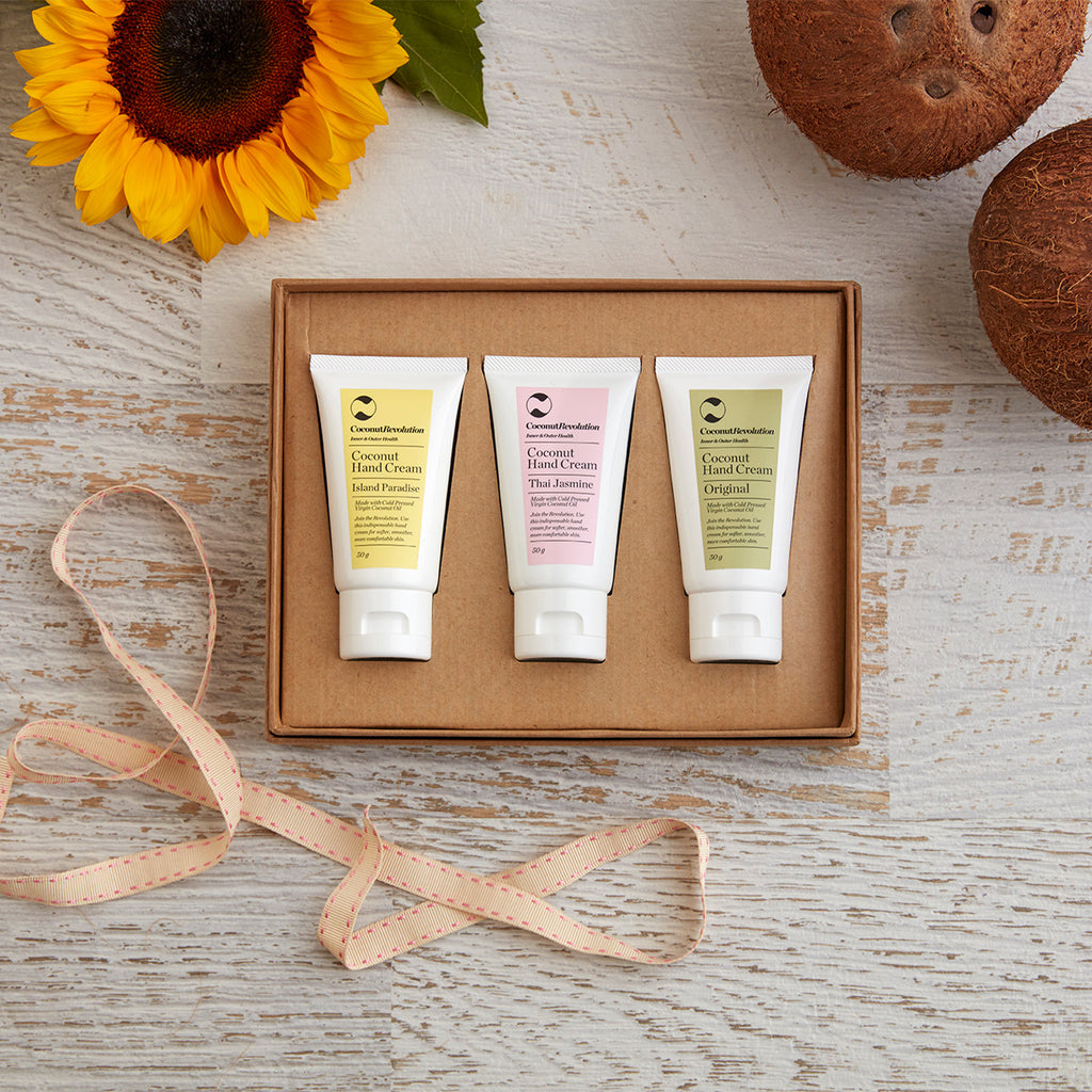 Coconut Hand Cream Trio
