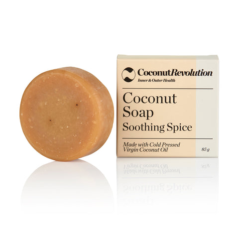 Handmade Coconut Soap - Soothing Spice 85g