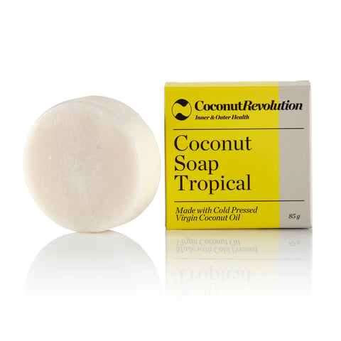 Handmade Coconut Soap - Tropical 85g