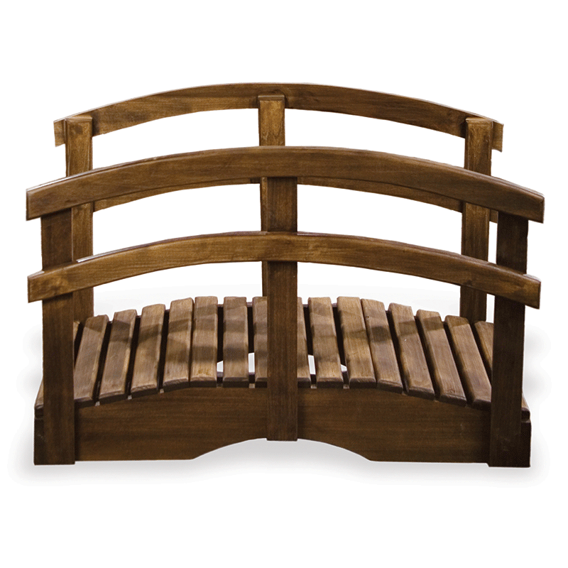 Wooden Footbridge Photography Prop