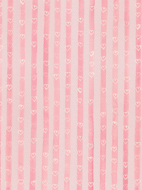 Sweet Stripes Printed Photography Backdrop