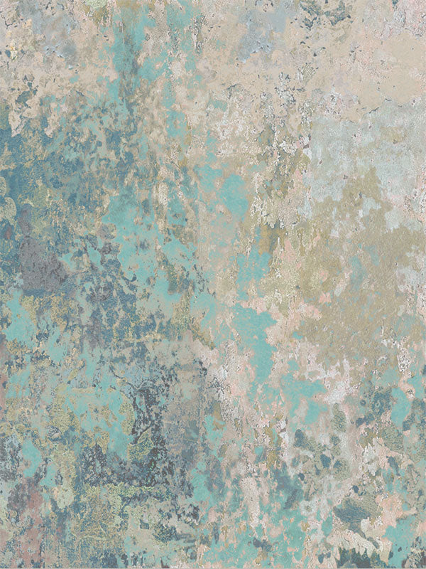 Teal Blue Wall Printed Photo Backdrop