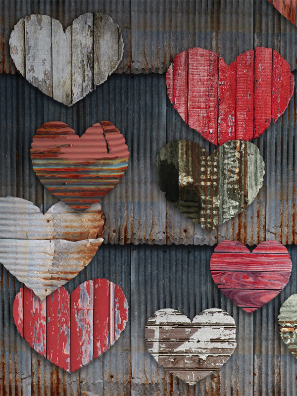 Valentines Theme Printed Photo Backdrop