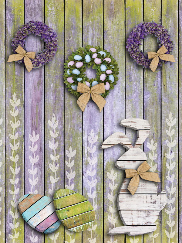 Lavender Easter Printed Photo Backdrop