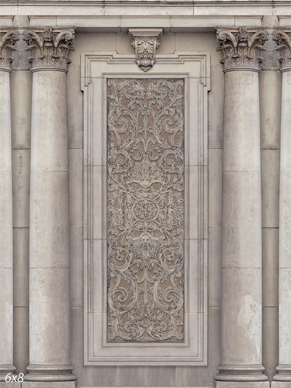Classical Columns Back Drop