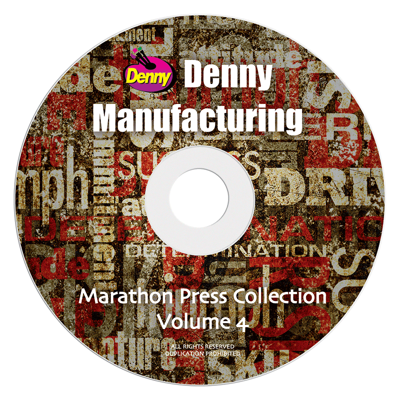 DVD-9 - Marathon Press Digital Background Collection Vol 4