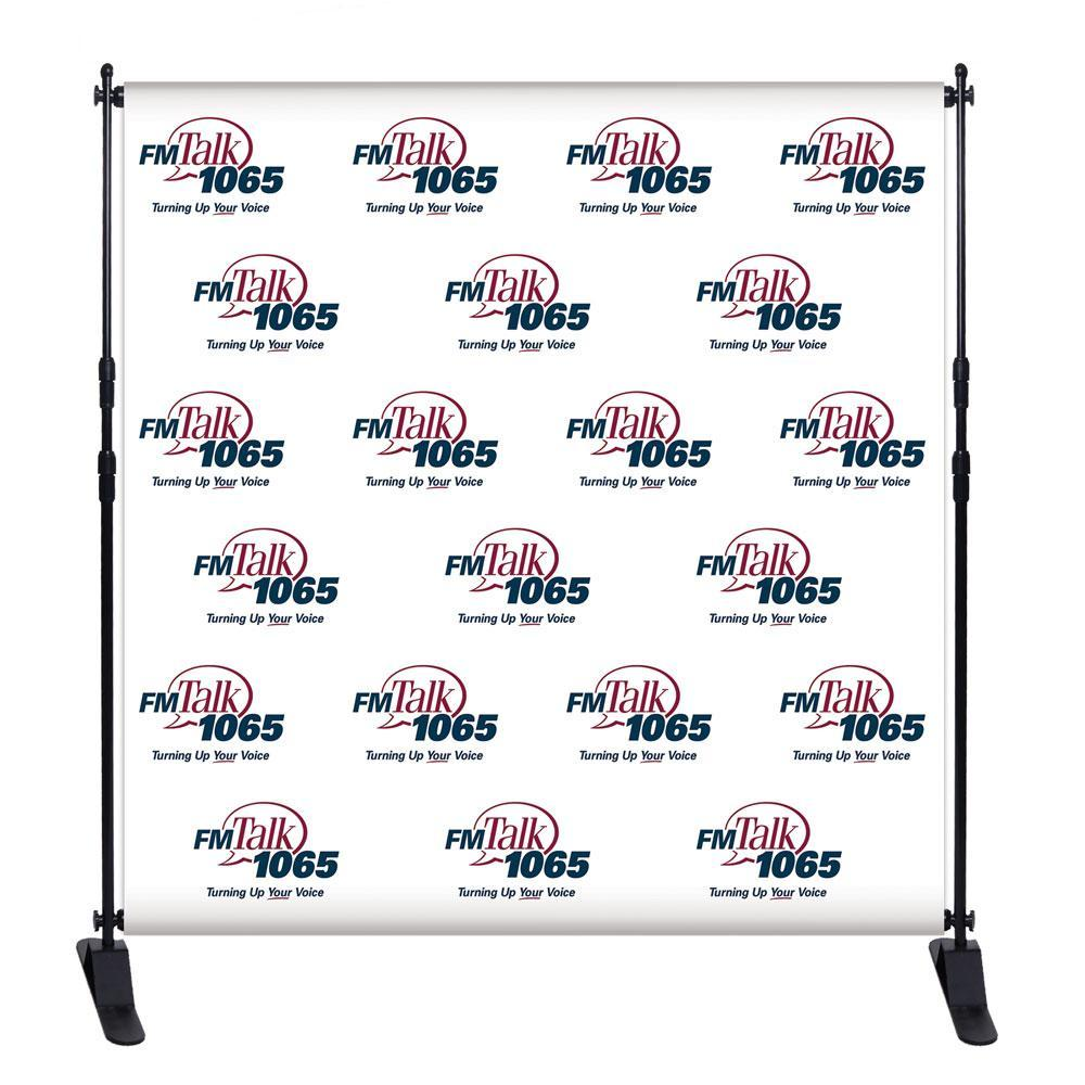 Step and Repeat Logo Red Carpet Backdrop Custom Printed