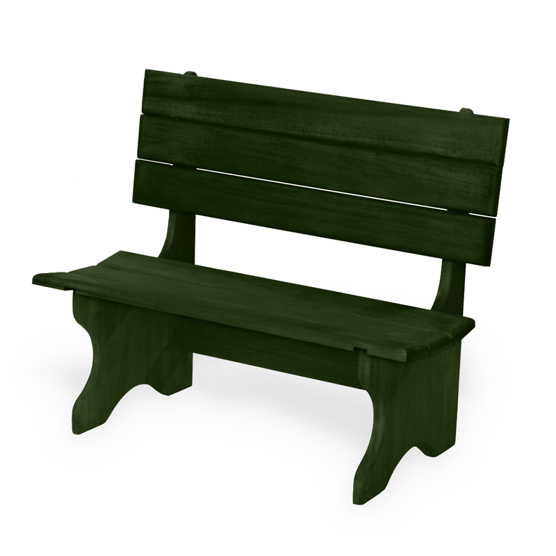 Wooden Bench Photography Prop