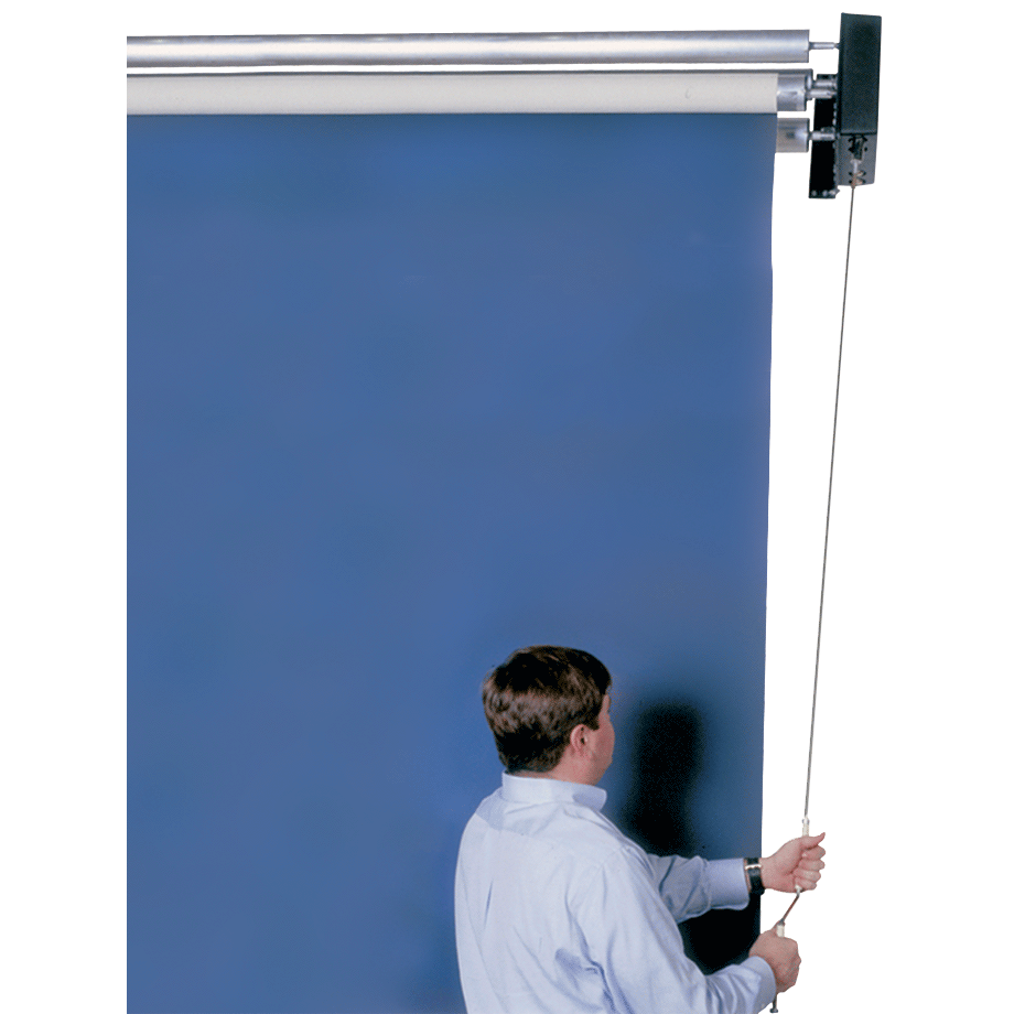 Manual Backdrop Roller System