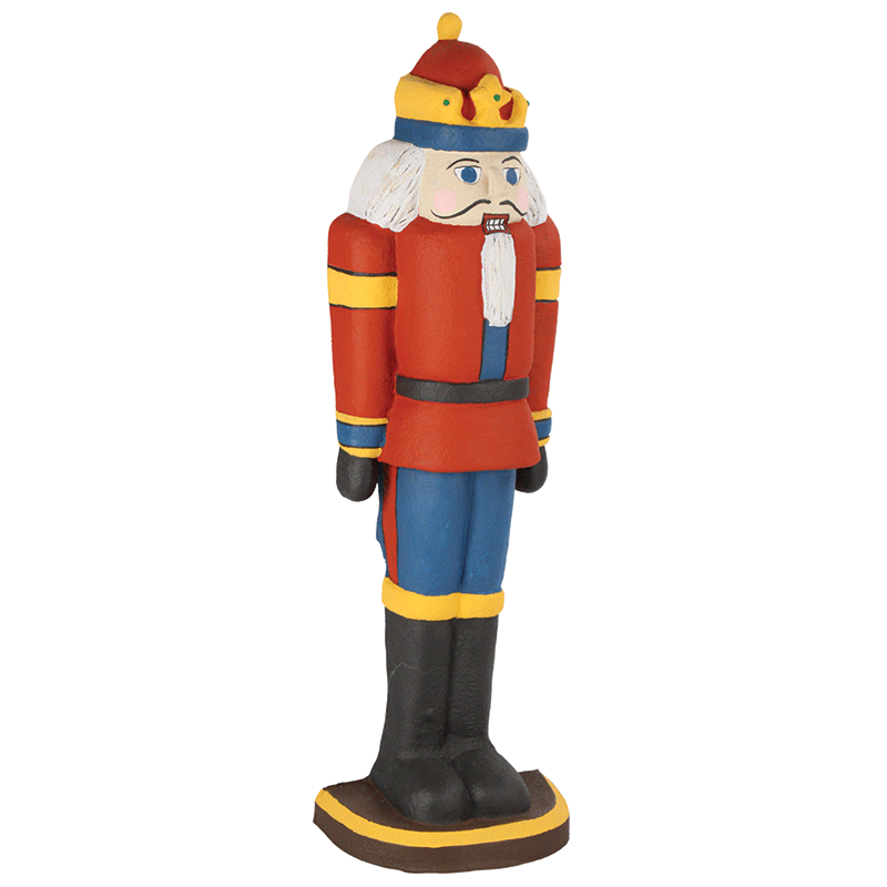Tall Nutcracker Prop for Theater Photography