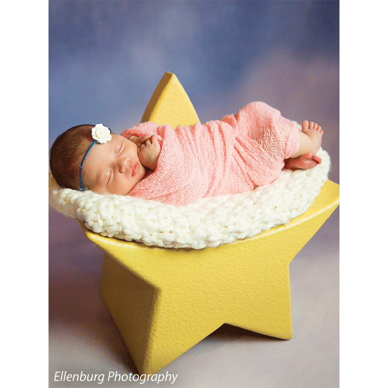 Newborn Star Photo Prop