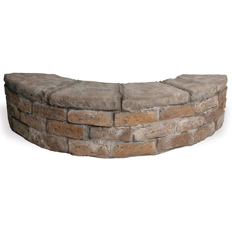 Stone and Brick Footbridge and Wall Prop