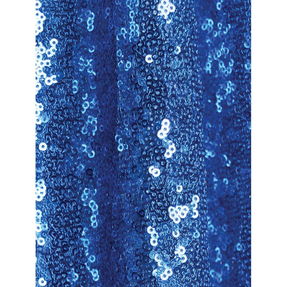 Royal Blue Sequin Backdrop
