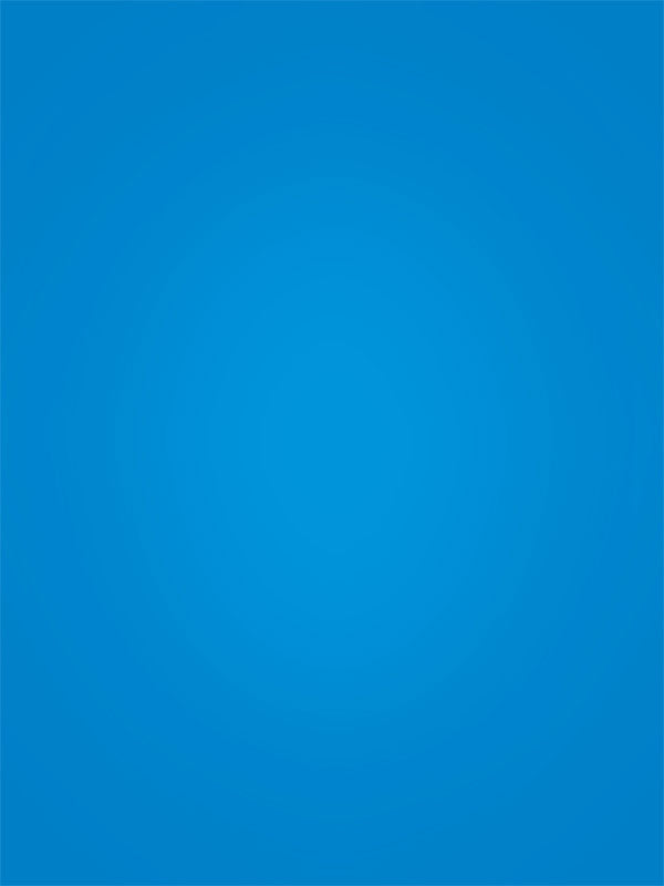 Solid Brilliant Blue Hand Painted Photo Backdrop