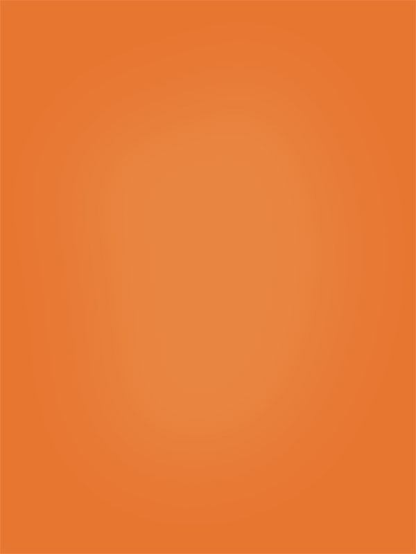Solid Orange Hand Painted Photo Backdrop