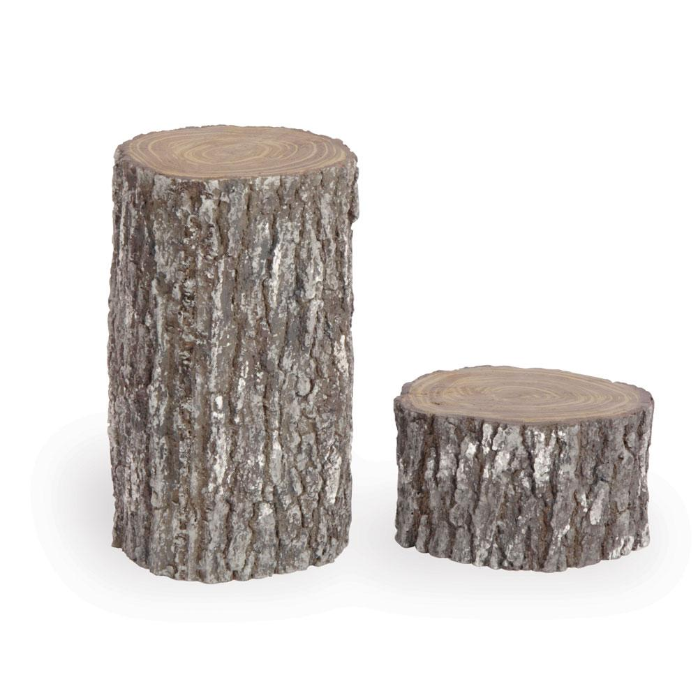 Fake Tree Stump Set of 2 Props