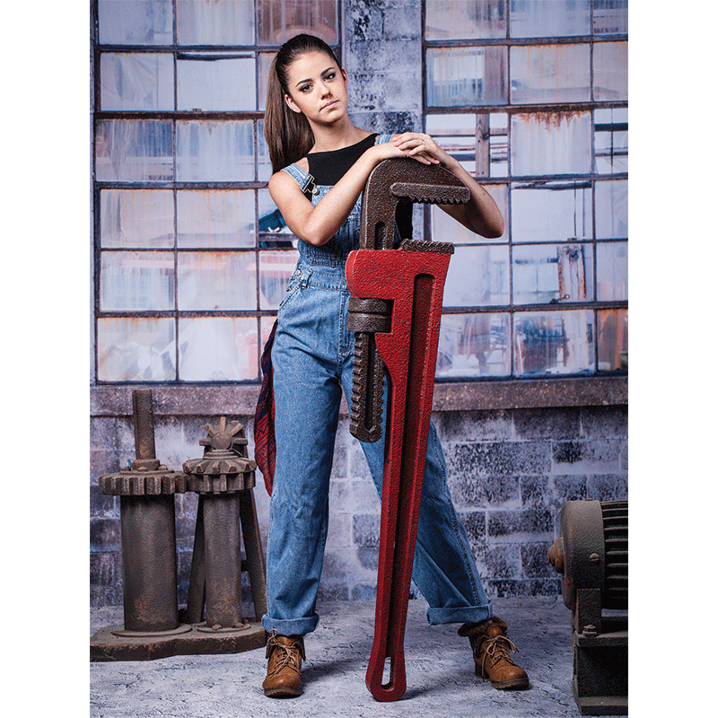 Oversized Wrench Tool prop