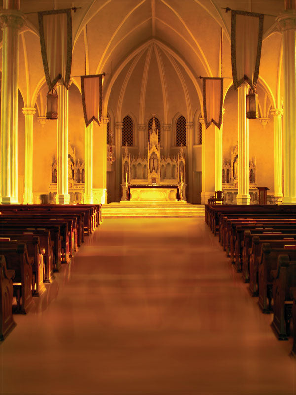 Cathedral Light Printed Photography Backdrop