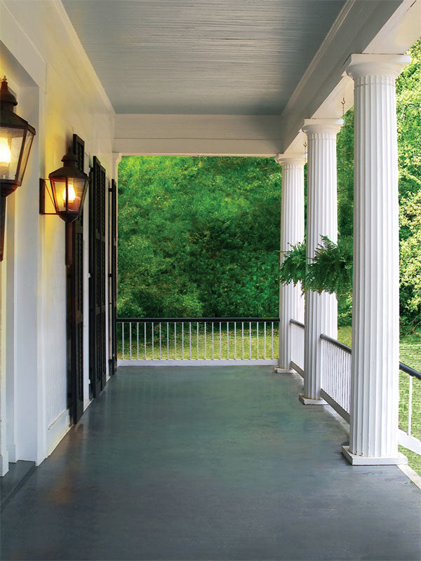 Antebellum Porch Printed Photography Backdrop