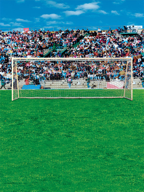 Crowded Goal Printed Photography Backdrop