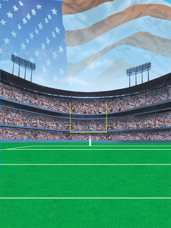 American Football Printed Photography Backdrop