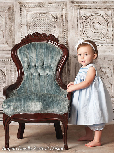 Pale Victorian Printed Photography Backdrop